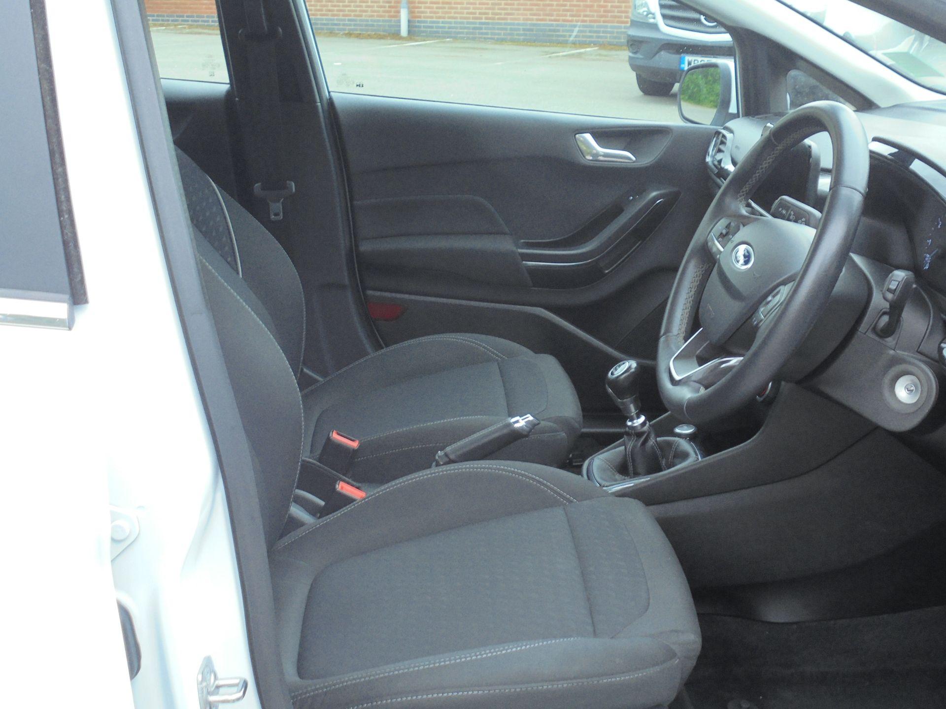 2018 Ford Fiesta 1.5 Tdci Zetec 5Dr (FD18WHU) Image 12