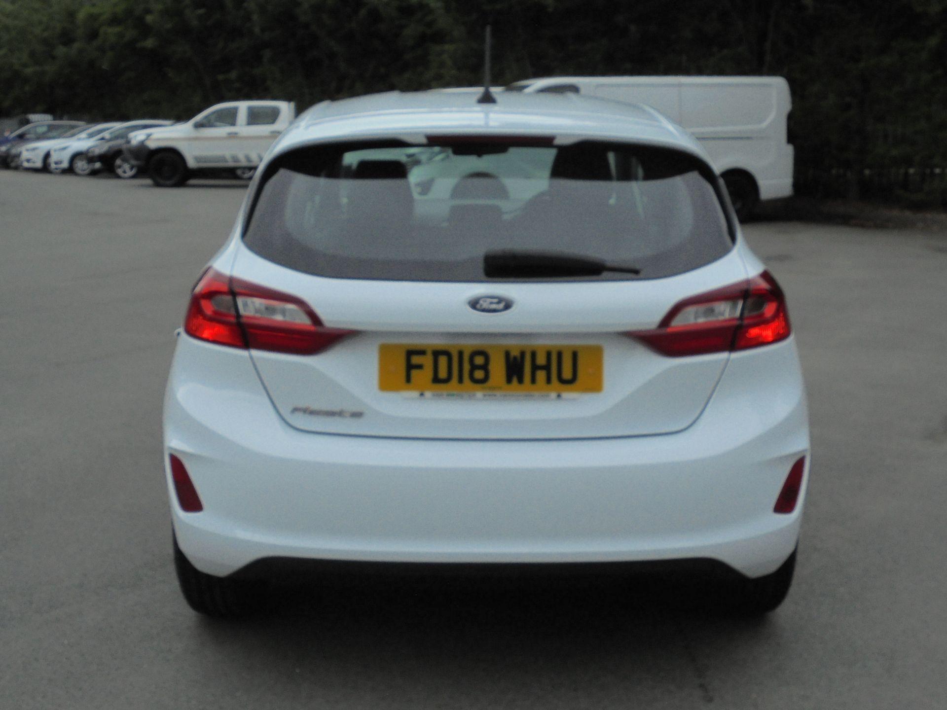 2018 Ford Fiesta 1.5 Tdci Zetec 5Dr (FD18WHU) Image 7