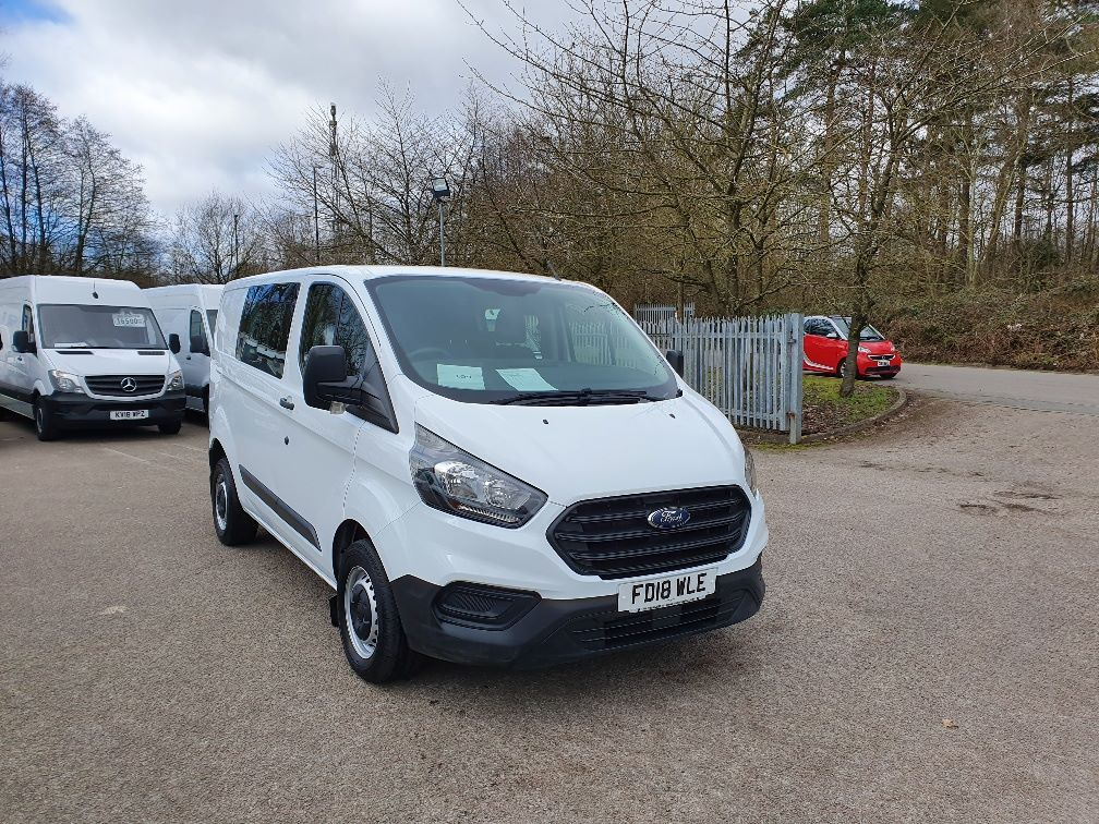 2018 Ford Transit Custom 300 L1 2.0TDCI 105PS LOW ROOF EURO 6 DOUBLE CAB (FD18WLE)