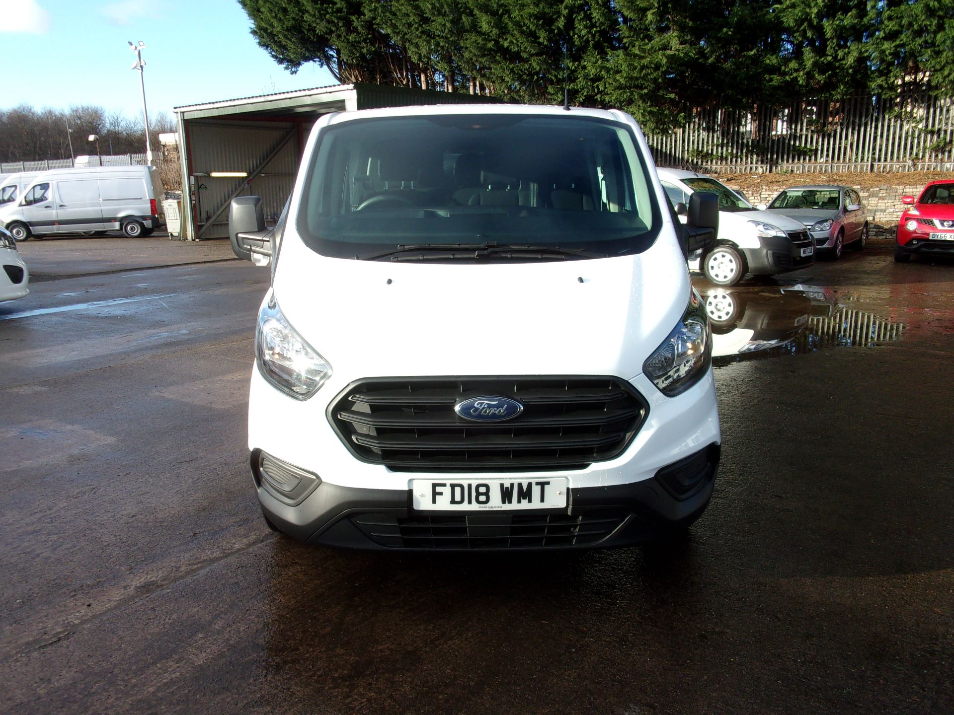 2018 Ford Transit Custom 300 L1 DIESEL FWD 2.0 TDCI 105PS LOW ROOF DOUBLE CAB VAN EURO 6 (FD18WMT) Image 15