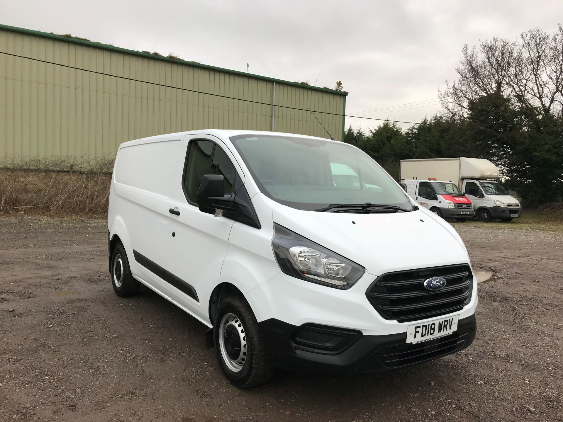2018 Ford Transit Custom 2.0 Tdci 105Ps Low Roof Van Euro 6 (FD18WRV)