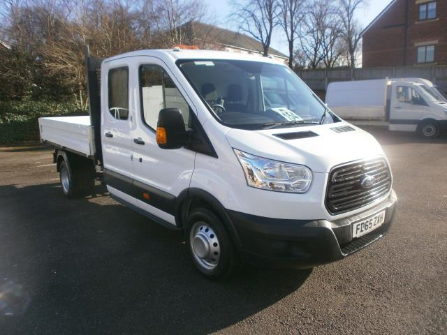 2016 Ford Transit T350 2.2 Tdci 125Ps Double Cab No Rear Seats (FD65ZXH)
