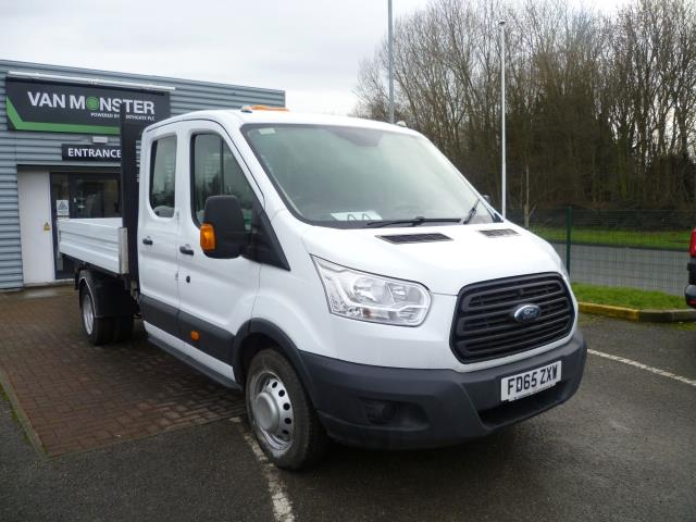 2016 Ford Transit T350 L3 DOUBLE CAB TIPPER 125PS EURO 5 (FD65ZXW)