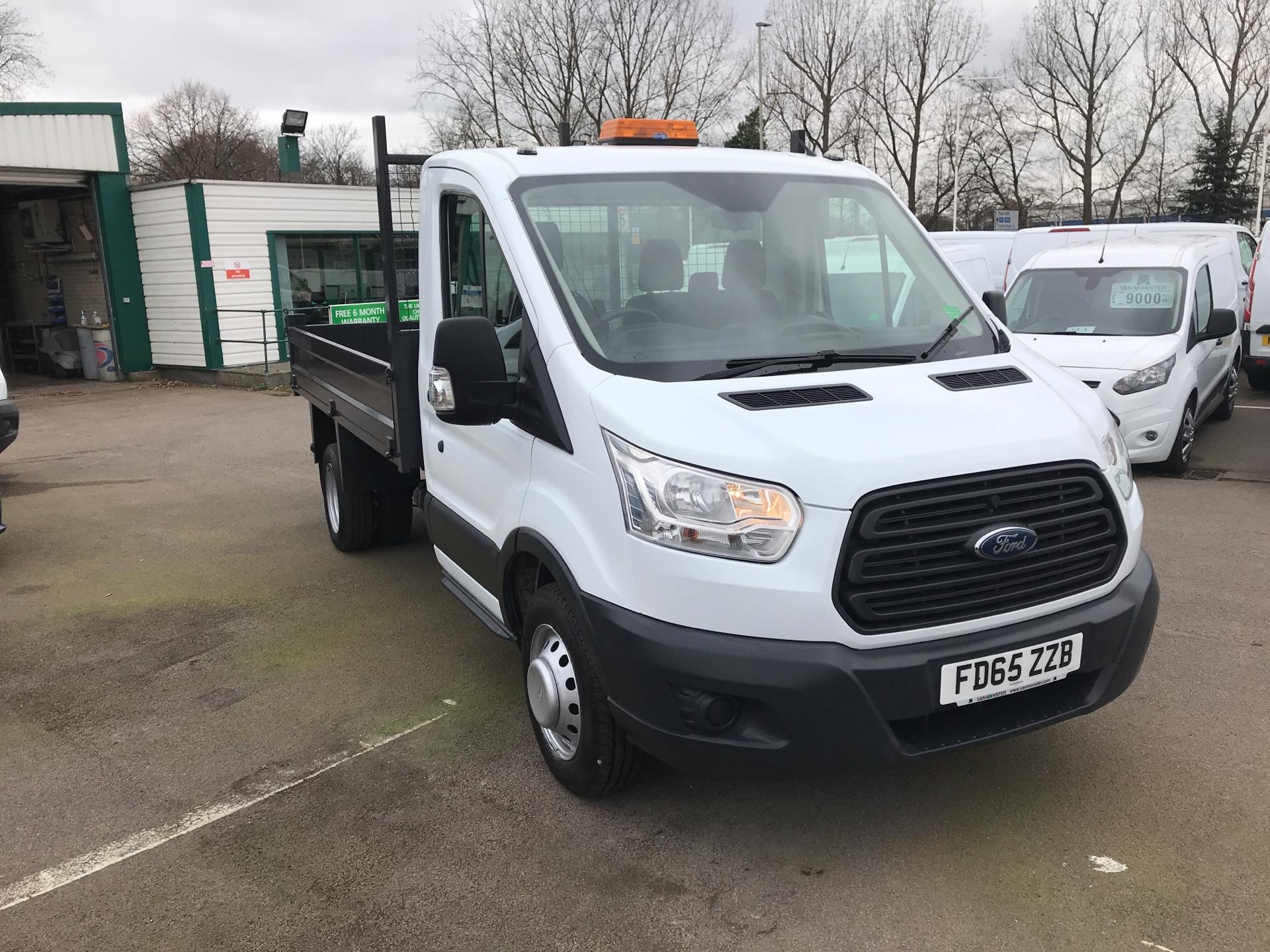 2015 Ford Transit 350 L2 SINGLE CAB TIPPER 125PS EURO 5 (FD65ZZB)