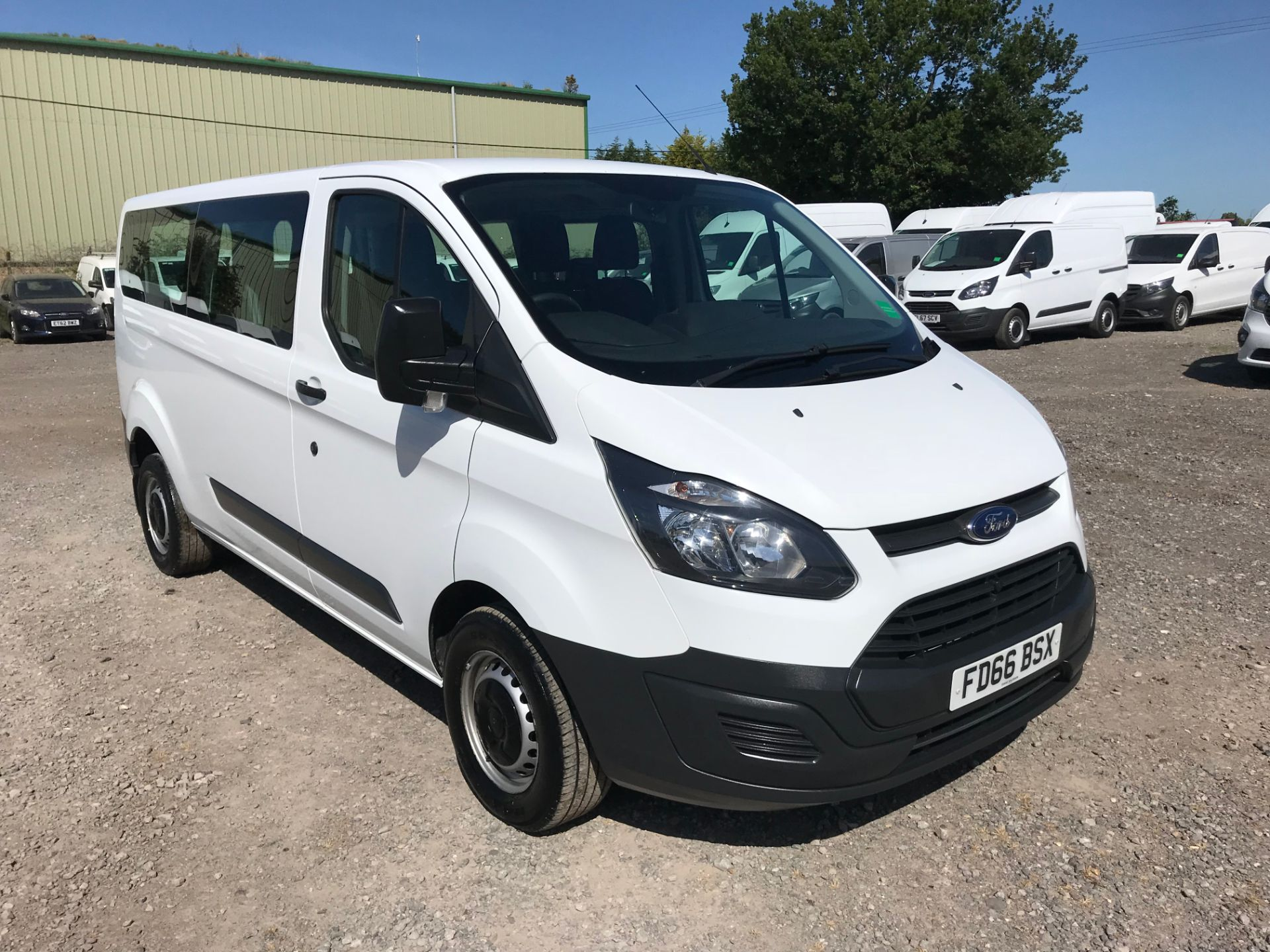 2016 Ford Transit Custom 2.0 Tdci 105Ps Low Roof Kombi Van Euro 6 (FD66BSX)