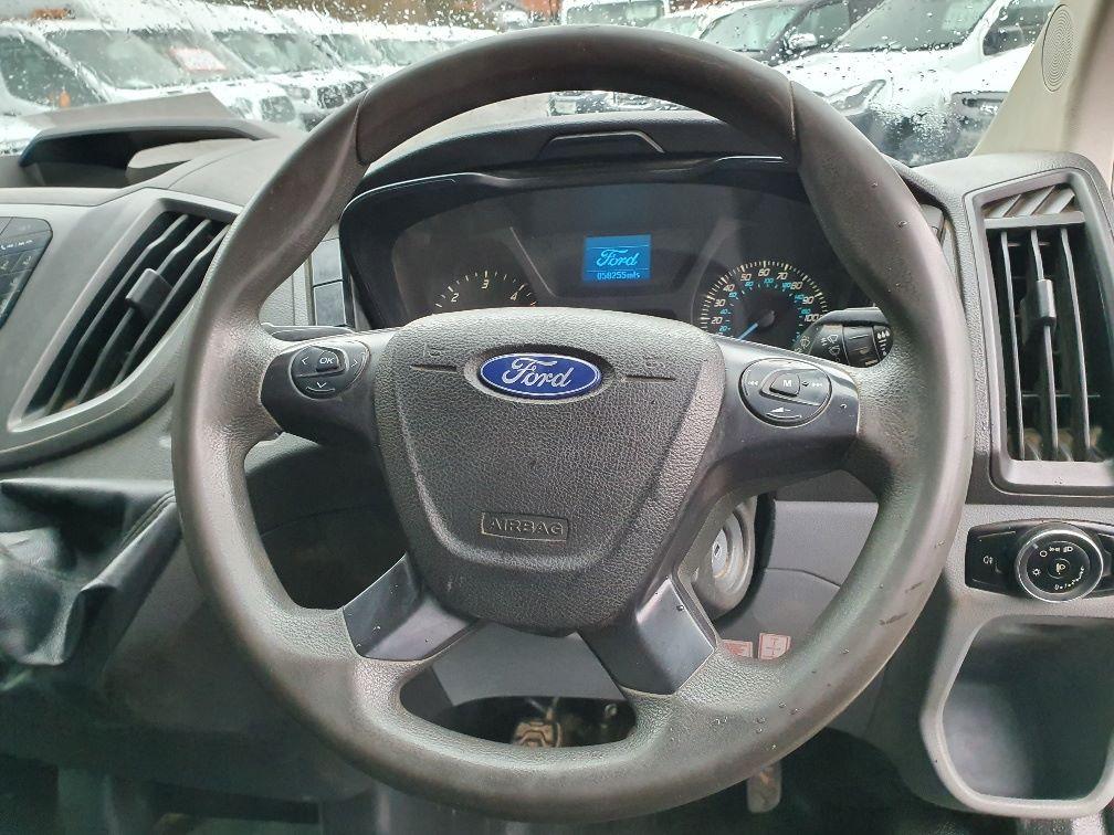 2016 Ford Transit 350 L3 DOUBLE CAB TIPPER 125PS EURO 5 (FD66BUA) Image 9