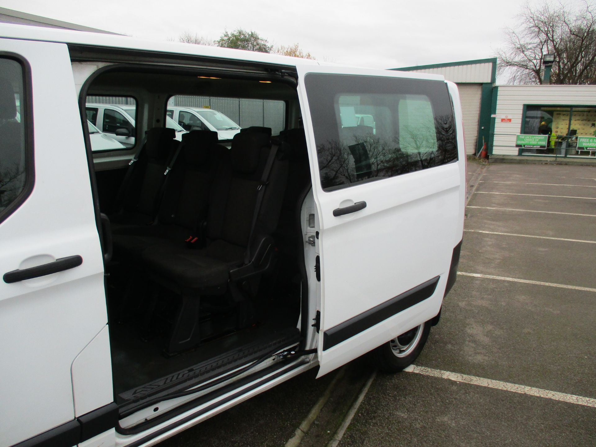 2016 Ford Transit Custom 2.0 Tdci 105Ps Low Roof Kombi Van (FD66BVC) Image 8
