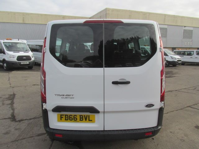 2016 Ford Transit Custom 310 L2 LOW ROOF KOMBI 130PS EURO 6 (FD66BVL) Image 4