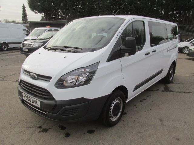 2016 Ford Transit Custom 310 L2 LOW ROOF KOMBI 130PS EURO 6 (FD66BVL) Image 7