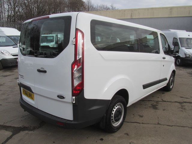 2016 Ford Transit Custom 310 L2 LOW ROOF KOMBI 130PS EURO 6 (FD66BVL) Image 3