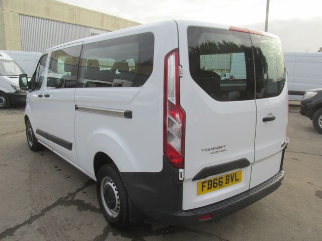 2016 Ford Transit Custom 310 L2 LOW ROOF KOMBI 130PS EURO 6 (FD66BVL) Image 5