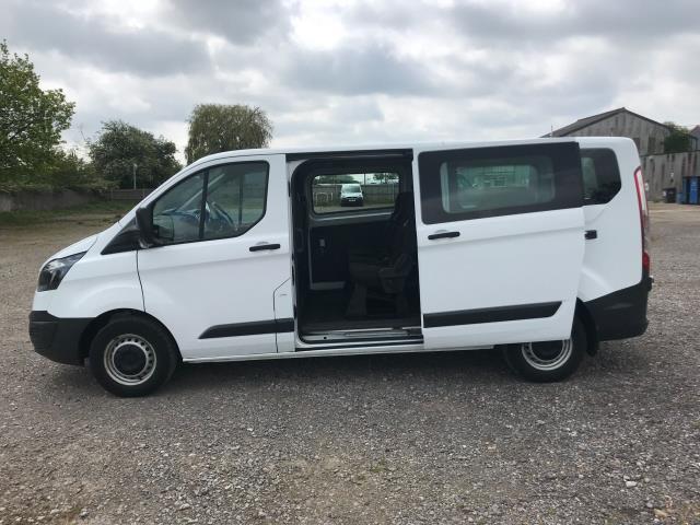 2016 Ford Transit Custom  310  L2  LOW ROOF  KOMBI 130PS EURO 6 (FD66BWJ) Image 8