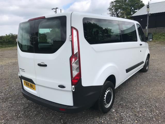 2016 Ford Transit Custom  310  L2  LOW ROOF  KOMBI 130PS EURO 6 (FD66BWJ) Image 6