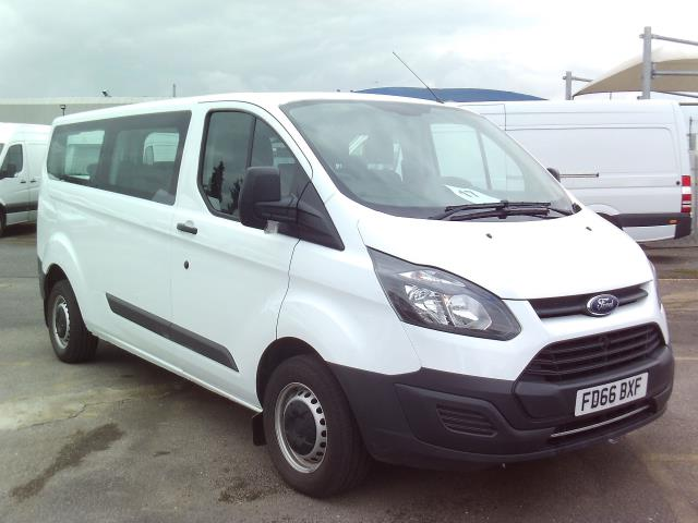 2016 Ford Transit Custom  310 L2 LOW ROOF KOMBI 130PS EURO  6 (FD66BXF)