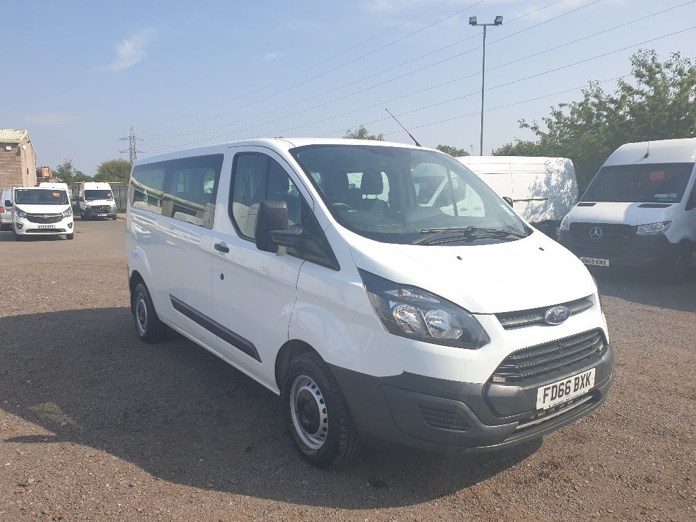 2016 Ford Transit Custom 310 L2 DIESEL FWD 2.0 TDCI 105PS LOW ROOF KOMBI VAN (FD66BXK)