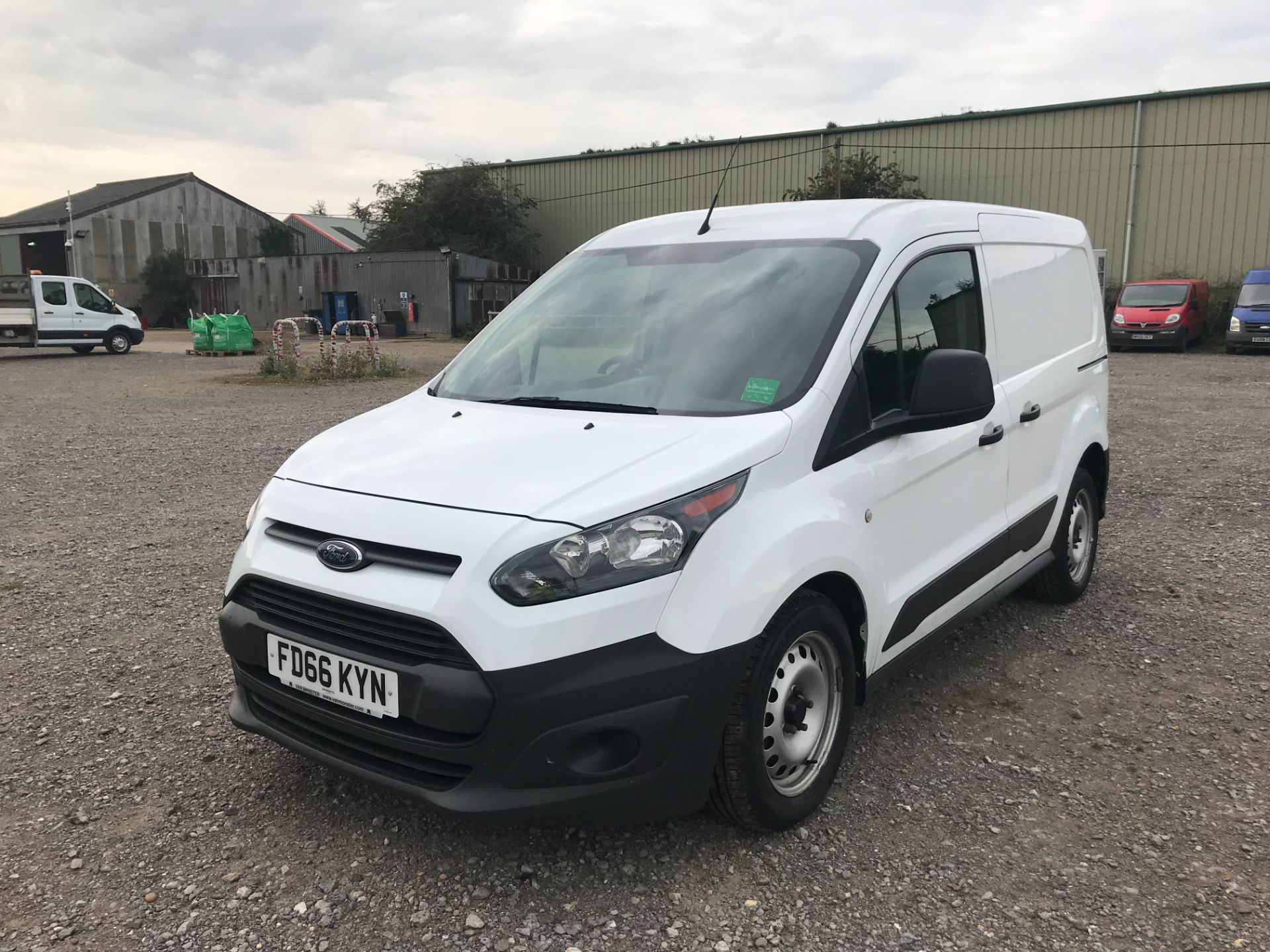 2016 Ford Transit Connect 1.5 Tdci 75Ps Van (FD66KYN) Thumbnail 3