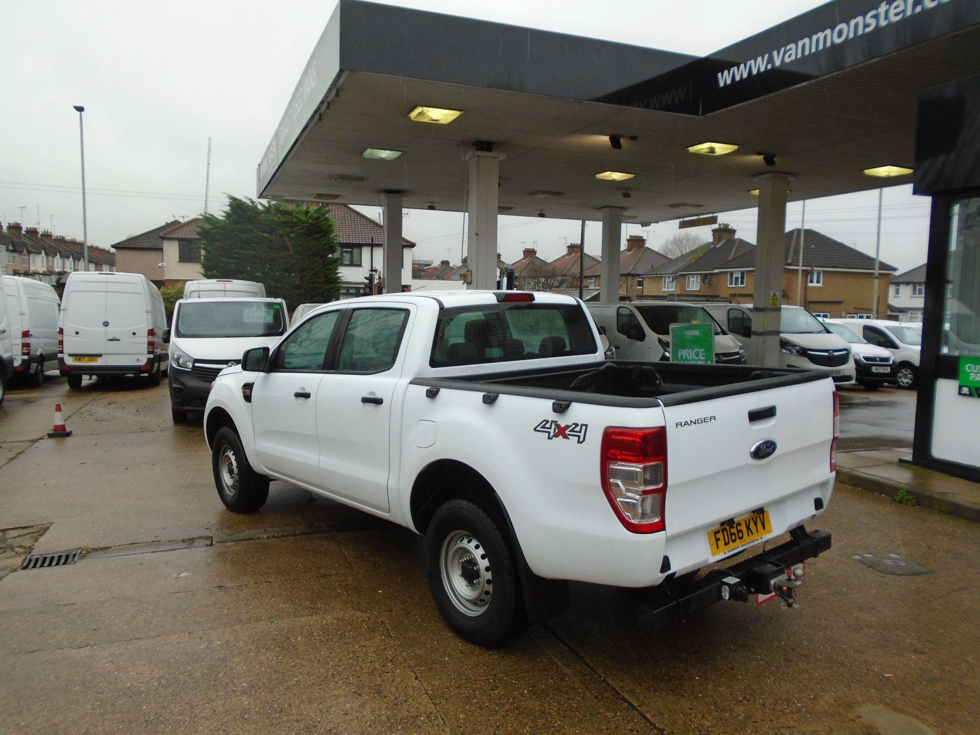 2016 Ford Ranger Pick Up Double Cab Xl 2.2 Tdci( EURO6) (FD66KYV) Image 4