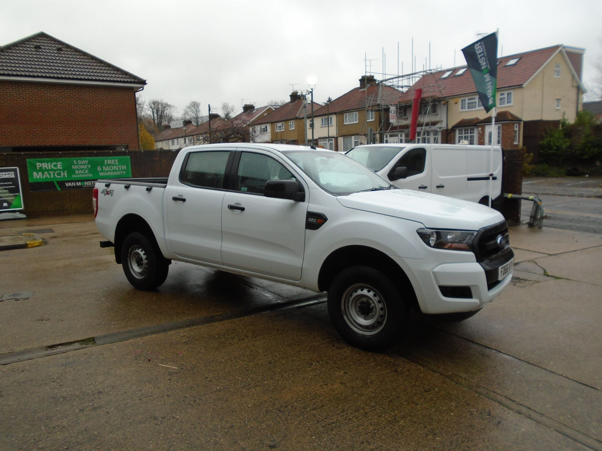 2016 Ford Ranger Pick Up Double Cab Xl 2.2 Tdci( EURO6) (FD66KYV)