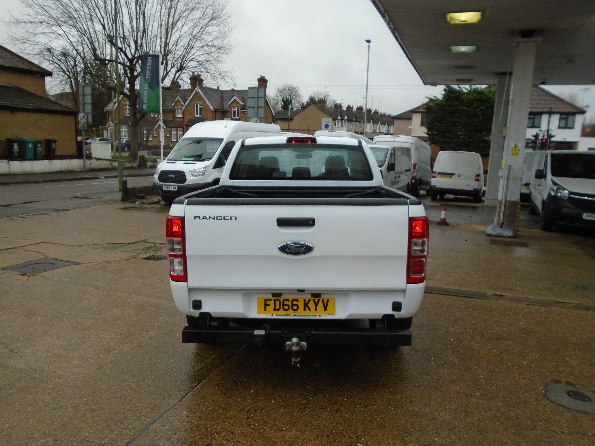 2016 Ford Ranger Pick Up Double Cab Xl 2.2 Tdci( EURO6) (FD66KYV) Image 8