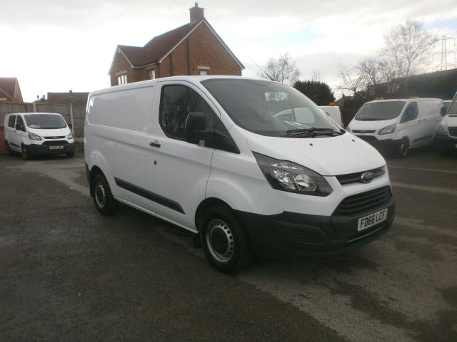 2016 Ford Transit Custom L1 SWB 2.0 Tdci 105Ps Low Roof Van EURO 6 (FD66LCF) Image 1