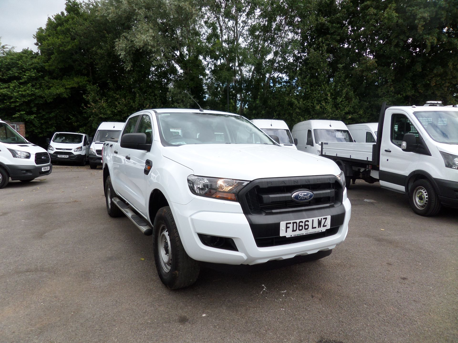 2016 Ford Ranger Pick Up Double Cab Xl 2.2 Tdci (FD66LWZ)
