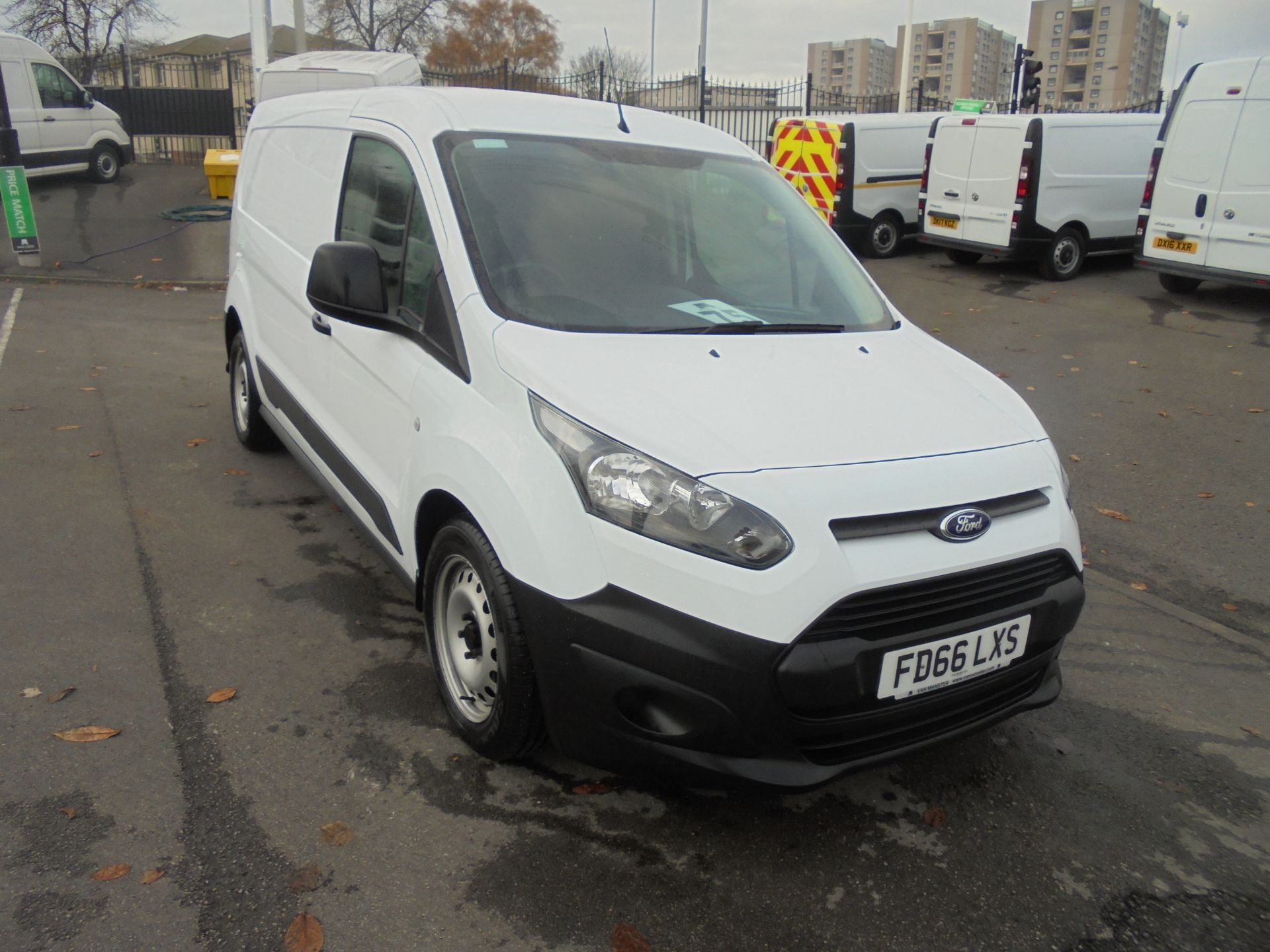2016 Ford Transit Connect 1.6 Tdci 115Ps Van (FD66LXS)