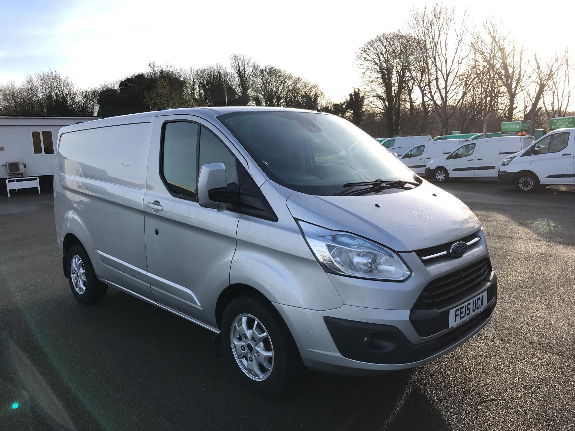 2015 Ford Transit Custom 290 L1 DIESEL FWD 2.2TDCI 125PS LOW ROOF LIMITED VAN EURO 5 *VALUE RANGE VEHICLE - CONDITION REFLECTED IN PRICE* (FE15UCA)