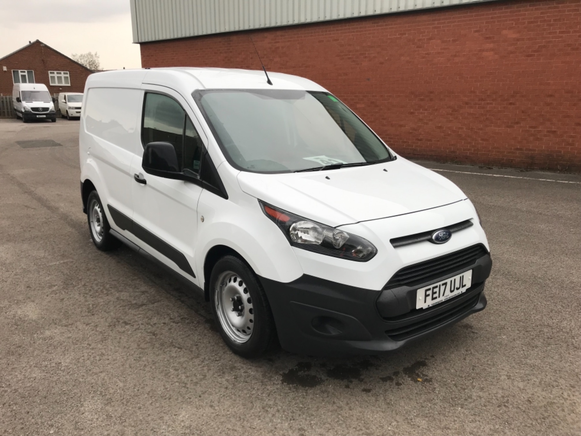 2017 Ford Transit Connect L1 1.5 Tdci 75Ps Van EURO 6 SPEED LIMITED TO 70MPH (FE17UJL)