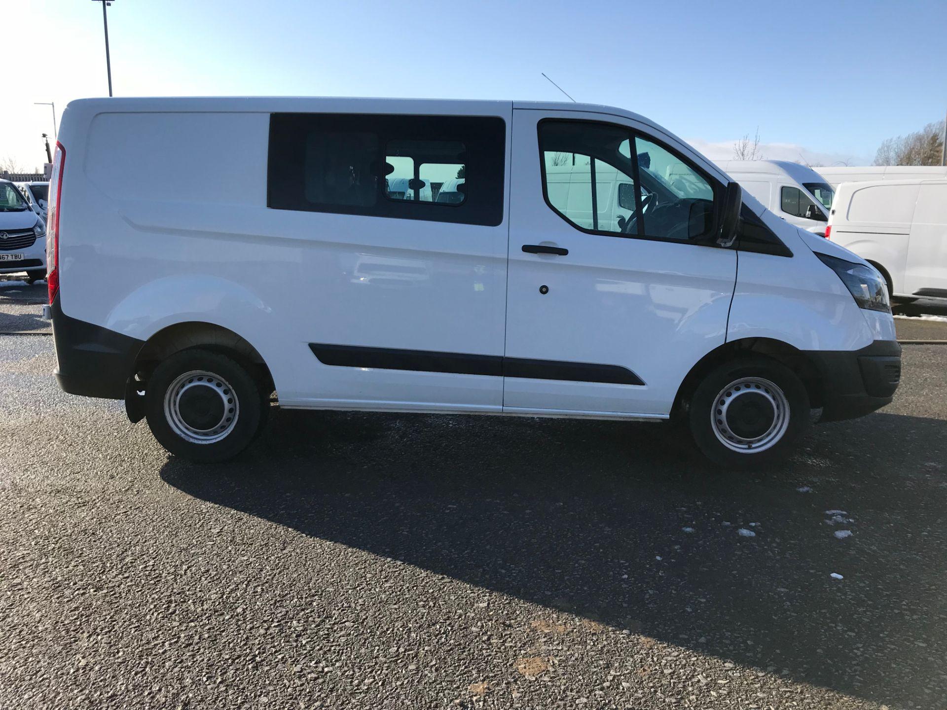 2017 Ford Transit Custom 2.0 Tdci 105Ps Low Roof D/Cab Van (FE17ULJ) Image 8