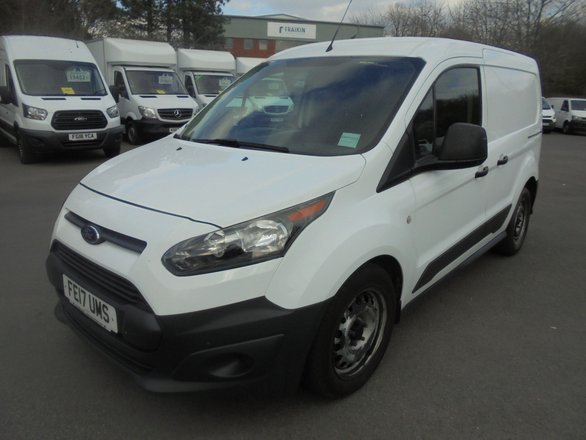 2017 Ford Transit Connect 1.5 Tdci 75Ps Van (FE17UMS) Image 3