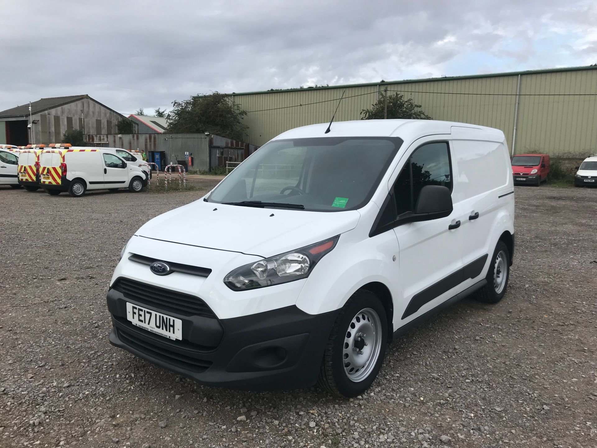 2017 Ford Transit Connect 1.5 Tdci 75Ps Van (FE17UNH) Image 3