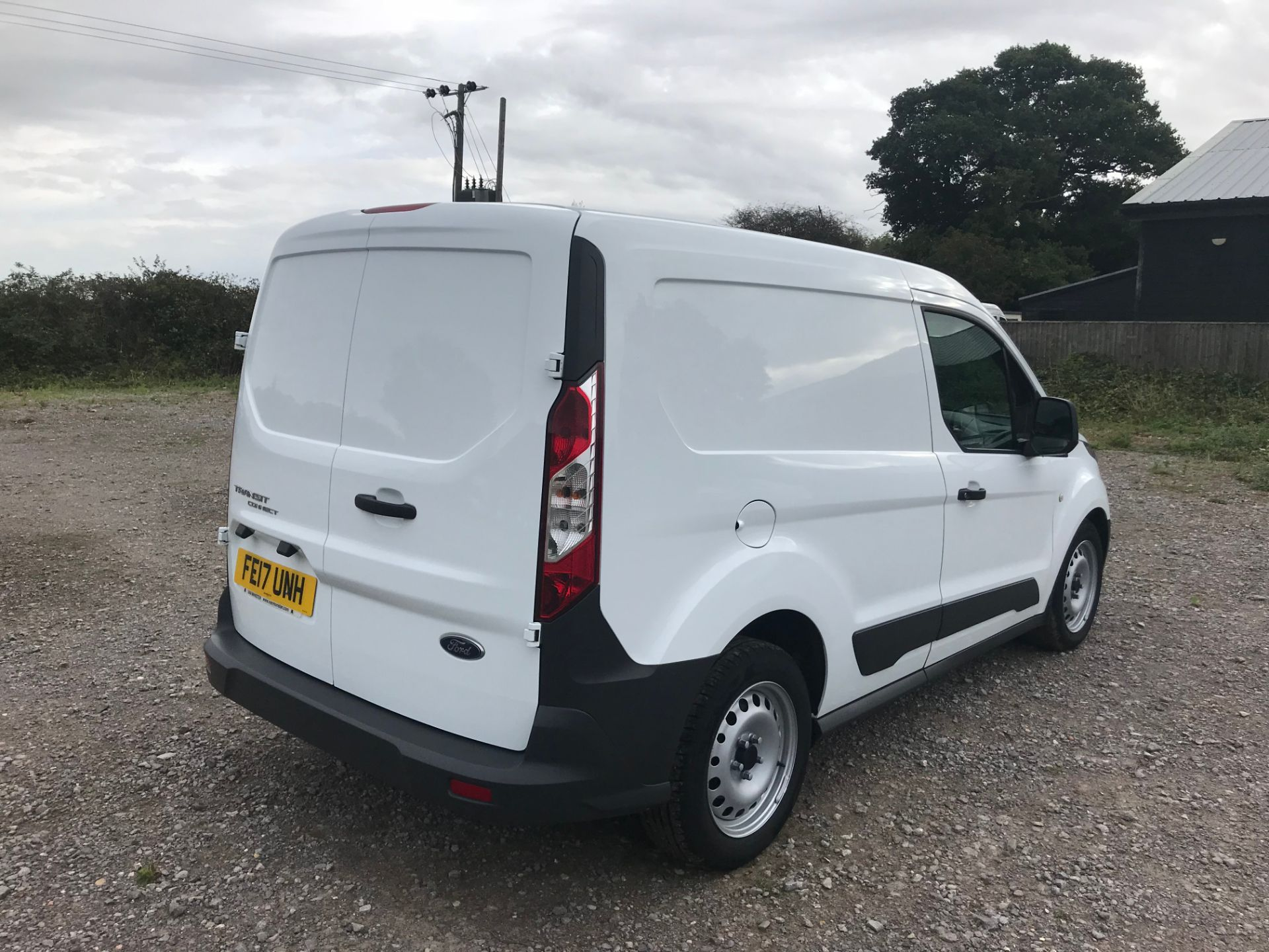 2017 Ford Transit Connect 1.5 Tdci 75Ps Van (FE17UNH) Image 4