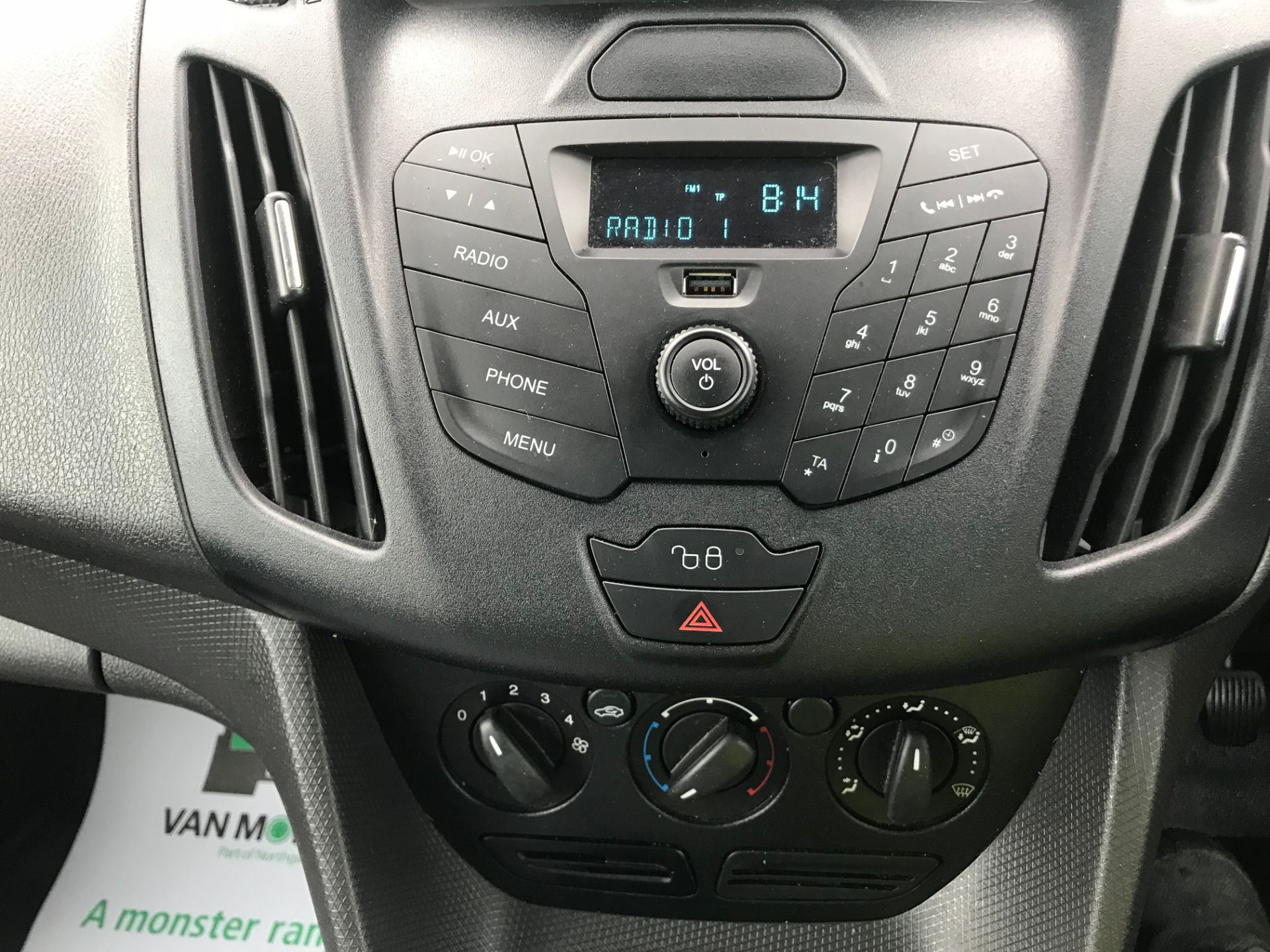 2017 Ford Transit Connect 1.5 Tdci 75Ps Van (FE17UNH) Image 21