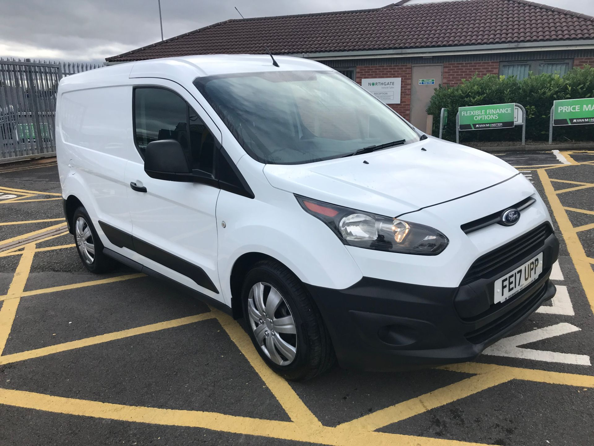 2017 Ford Transit Connect 1.5 Tdci 75Ps Van (FE17UPP) Image 1