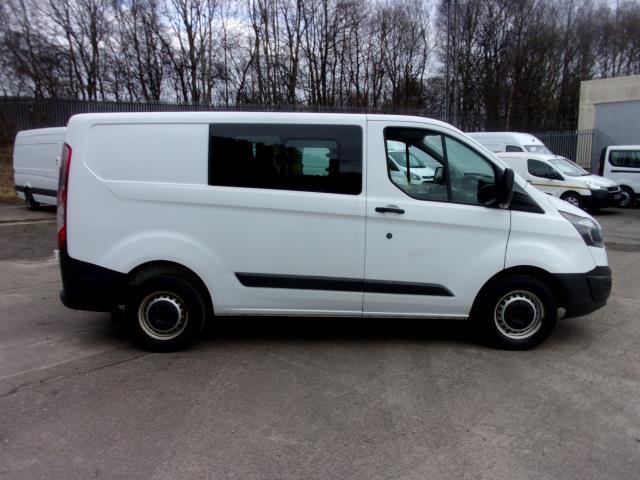 2017 Ford Transit Custom 290 2.0 Tdci 105Ps Low Roof D/Cab Van (FE17UUM) Image 8