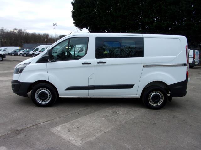 2017 Ford Transit Custom 290 2.0 Tdci 105Ps Low Roof D/Cab Van (FE17UUM) Image 12