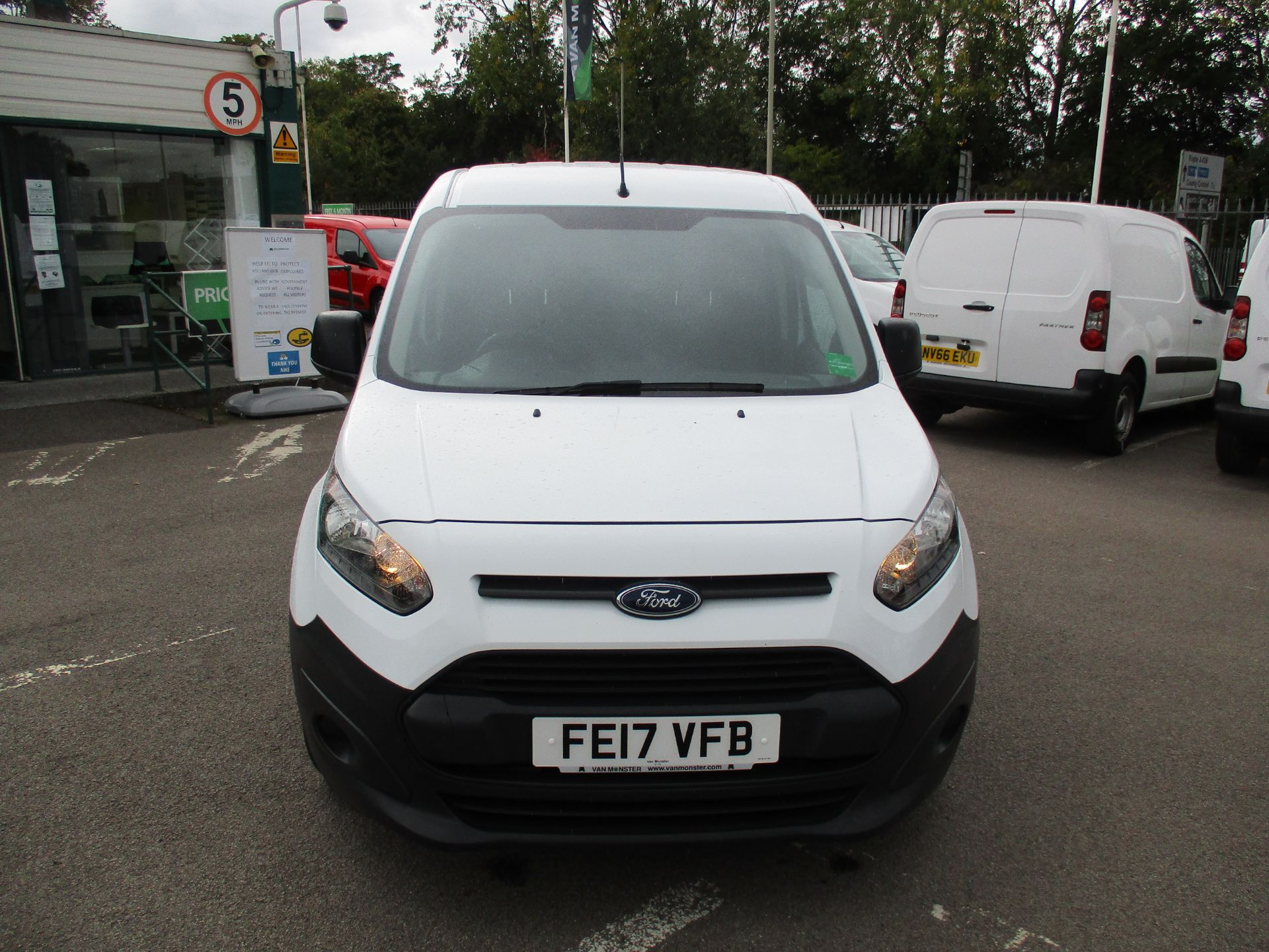 2017 Ford Transit Connect 1.5 Tdci 75Ps Van (FE17VFB) Image 10