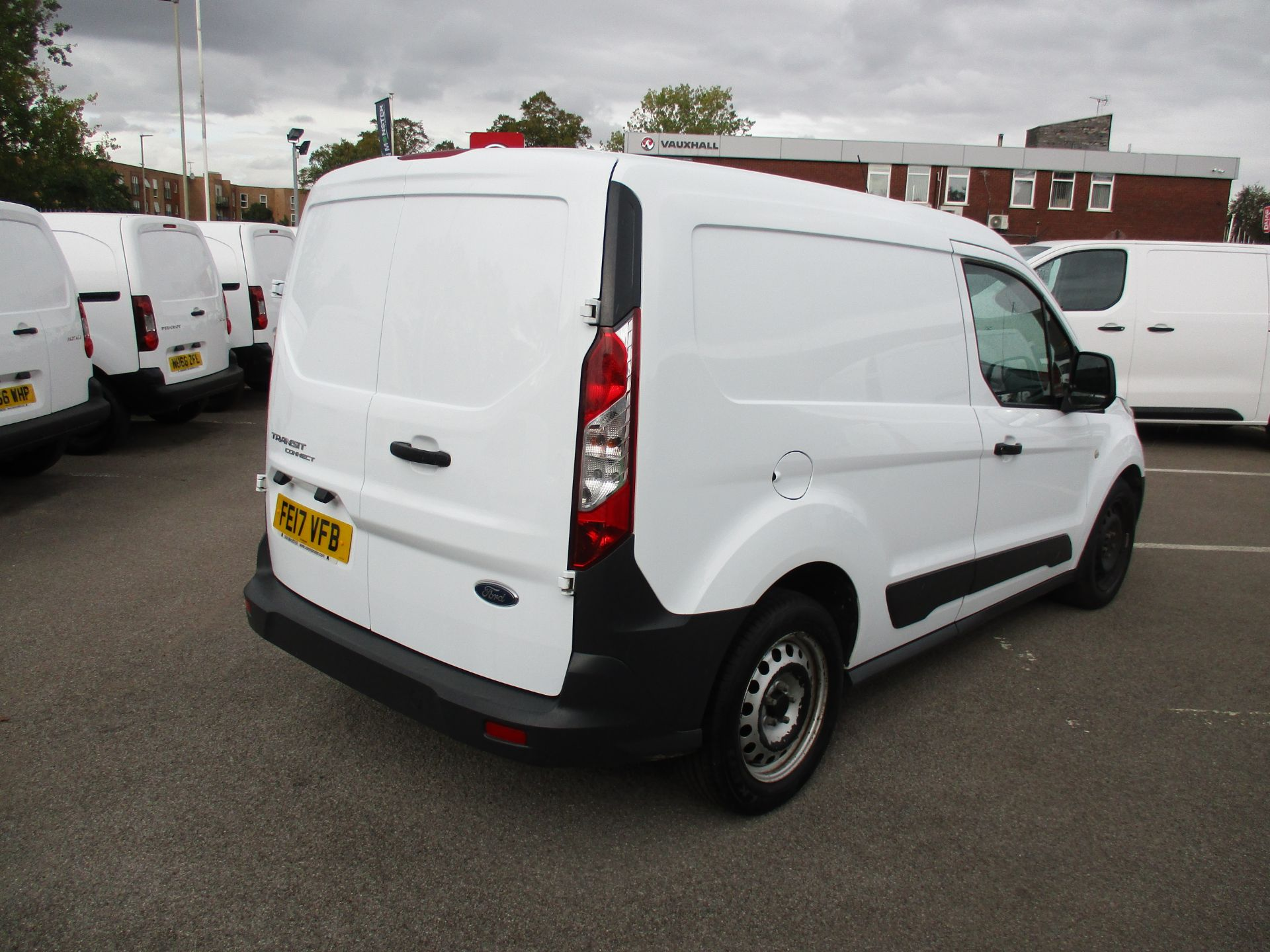 2017 Ford Transit Connect 1.5 Tdci 75Ps Van (FE17VFB) Image 3