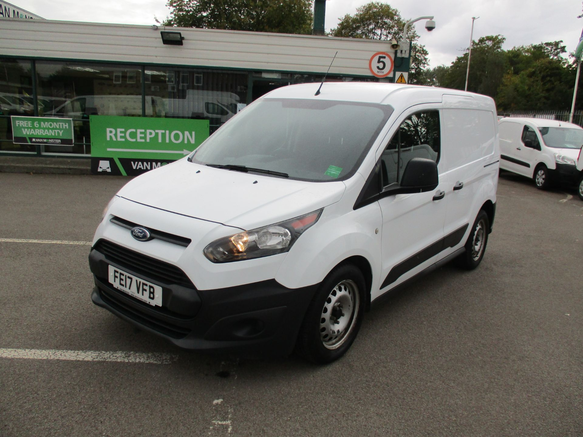 2017 Ford Transit Connect 1.5 Tdci 75Ps Van (FE17VFB) Image 9