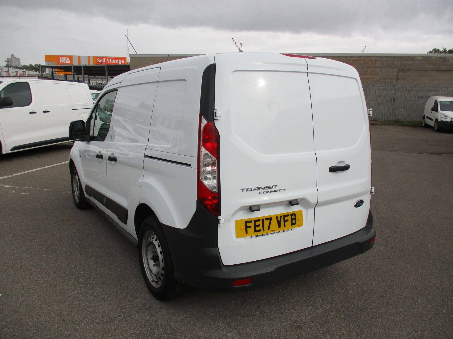 2017 Ford Transit Connect 1.5 Tdci 75Ps Van (FE17VFB) Image 4