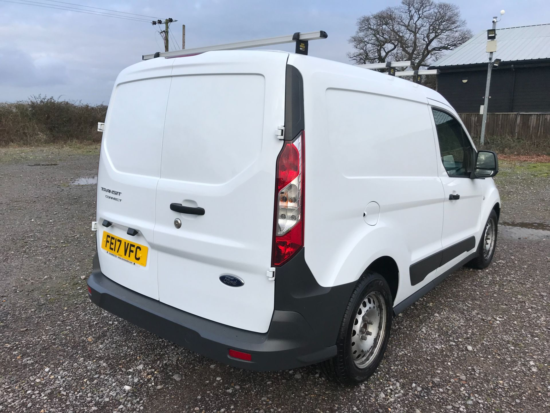 2017 Ford Transit Connect 1.5 Tdci 75Ps Van (FE17VFC) Image 4