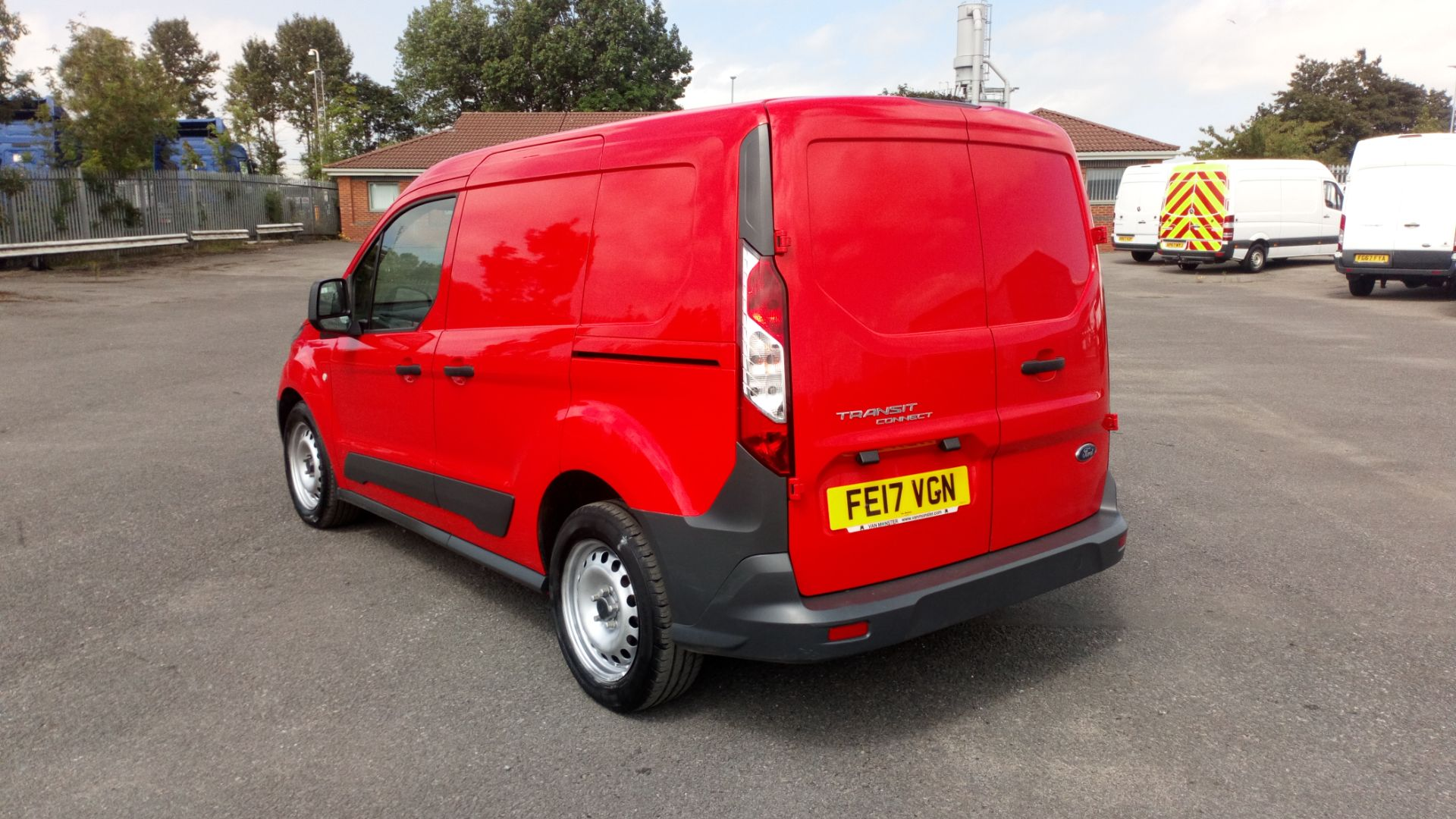 2017 Ford Transit Connect 1.5 Tdci 75Ps Van (FE17VGN) Image 5