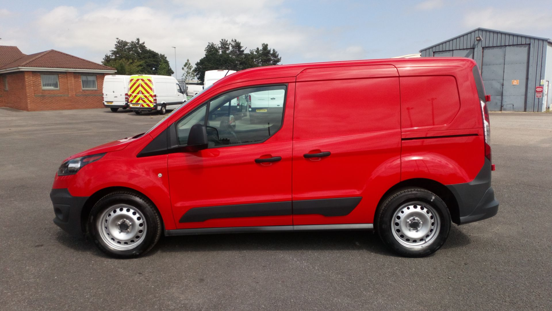 2017 Ford Transit Connect 1.5 Tdci 75Ps Van (FE17VGN) Image 4