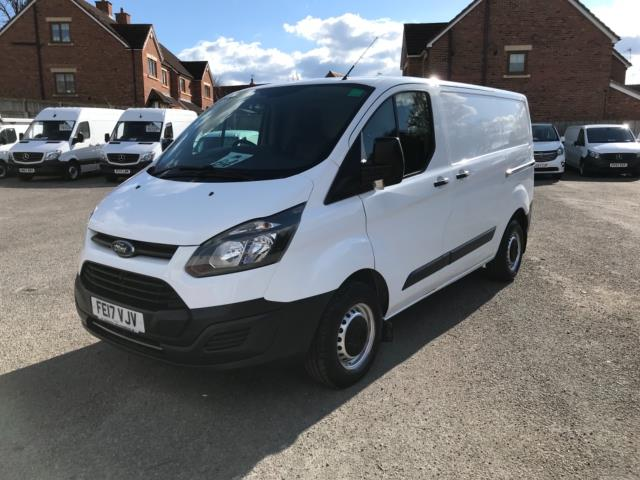 2017 Ford Transit Custom 2.0 Tdci 105Ps Low Roof Van Euro 6 (FE17VJV) Thumbnail 3