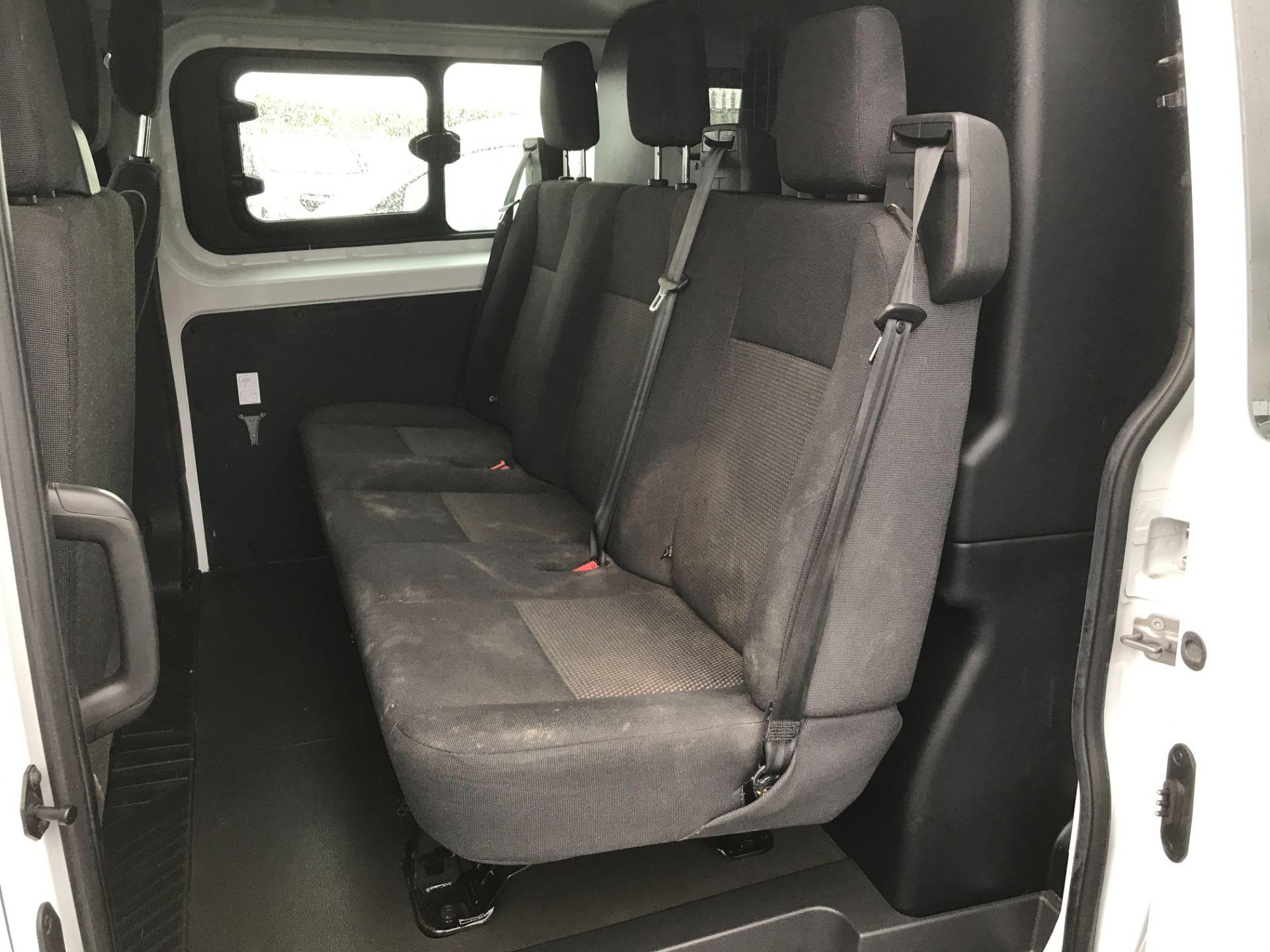 2017 Ford Transit Custom 290 L1 2.0TDCI 105PS LOW ROOF EURO 6 DOUBLE CAB (FE17VJX) Image 7