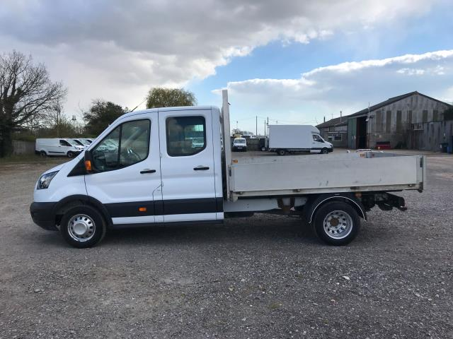 2017 Ford Transit 2.0 Tdci 130Ps Double Cab Drop Side Euro 6 (FE17ZVP) Image 7