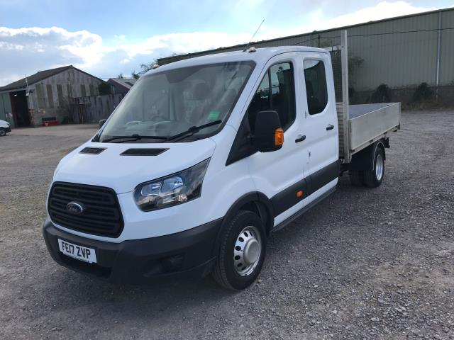 2017 Ford Transit 2.0 Tdci 130Ps Double Cab Drop Side Euro 6 (FE17ZVP) Image 3