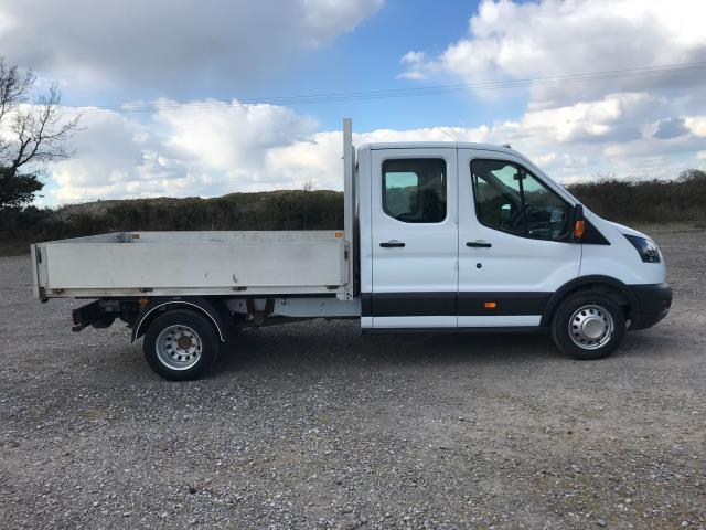 2017 Ford Transit 2.0 Tdci 130Ps Double Cab Drop Side Euro 6 (FE17ZVP) Image 9