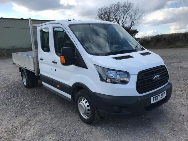 2017 Ford Transit 2.0 Tdci 130Ps Double Cab Drop Side Euro 6 (FE17ZVP) Image 1