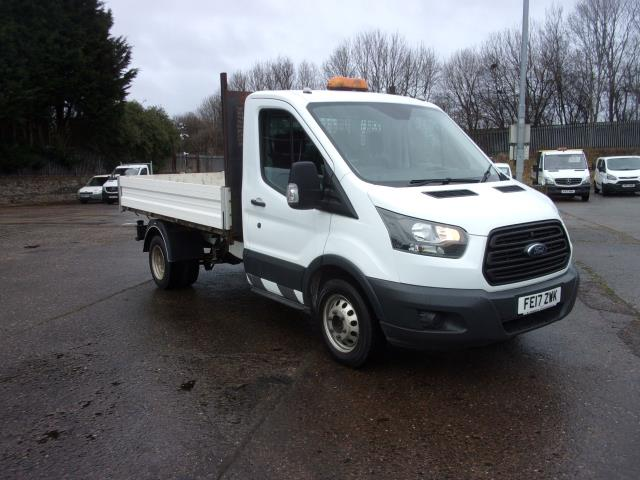 2017 Ford Transit 350 L2 2.0Tdci 130Ps Single Cab Tipper  (FE17ZWK)
